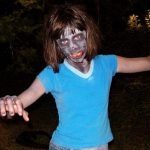 """2 White Kids..."" zombie girl"