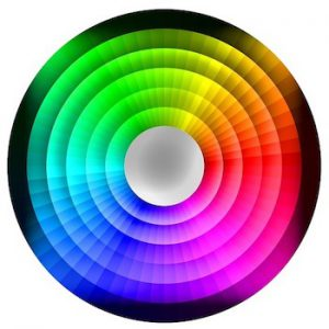 color wheel and color theory