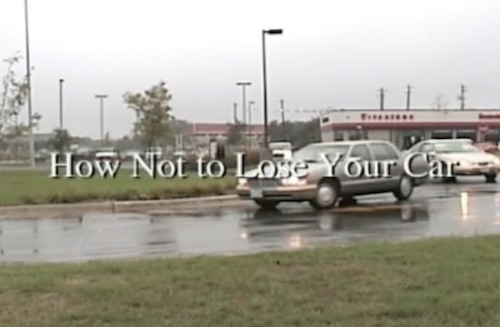 How Not to Lose Your Car film short