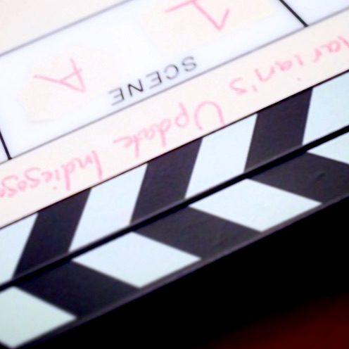 Indiegogo clapboard
